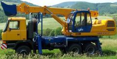 UDS 214 excavator scheduler
