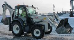Loader-digger of Terex TLB 840
