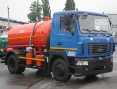 Вакуумна машина КО-503В-10 (5 м³)