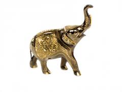 Elephant from brass 8