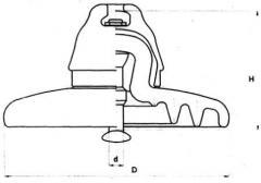 Изолятор подвесной фарфоровый ПФ70-А