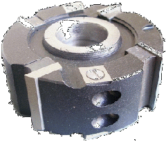 CIRCULAR CUTTER WITH MECHANICAL FASTENING OF