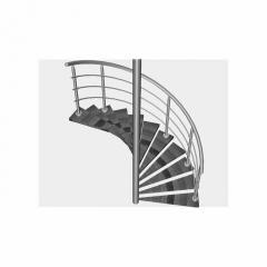 Лестница металлическая кованая, лестница