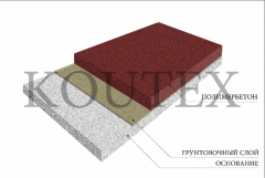 Polimerbeton (polymeric concrete) from the