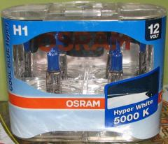 Autolamp of OSRAM H4 COOL BLUE HYPER Intence 5000K