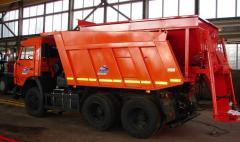 Peskorazbrasyvatel, a rotary dump of MDKZ-20/06