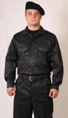 Okhrana-Lyuks suit on buttons