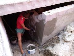 Obmazochny waterproofing of Evolit-gidr