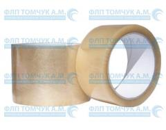 Adhesive tape with sticky layer Not-Mel