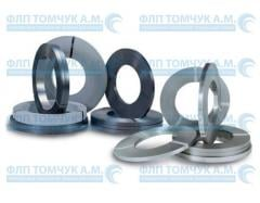 Steel tape, packaging