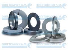 Steel tape, packaging