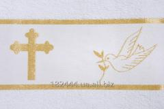 Towel for Kryzhm's baptism 70*140 makhr