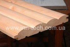 Блок-хаус сосна 135x35x4000 -4500 мм от