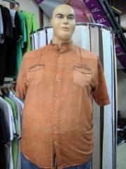 Men's shirt Article: 155, big sizes wholesale