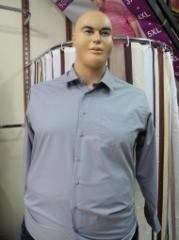Men's shirt Article: 145, big sizes wholesale