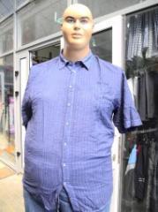 Men's shirt Article: 154, big sizes wholesale