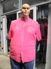 Men's shirt Article: 153, big sizes wholesale