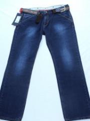 Men's jeans Article: 600, big sizes wholesale