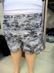 Мужские шорты Артикул: 7004, больших размеров