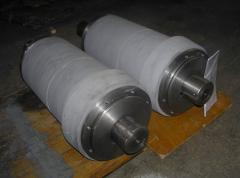 Power shaft and spare parts to rotor crushers