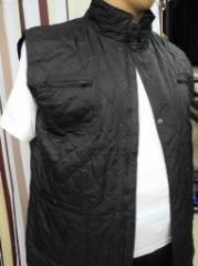 Men's vest - a sleeveless jacket the Novelty