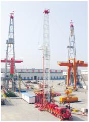 Mobile ZJ-40 drilling rig