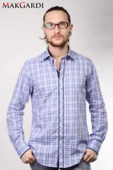 The shirt is man's, a long sleeve