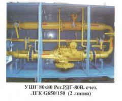 Оборудование и пункты газорегуляторные, Газовые