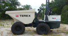 TA series Terex dump trucks (with the Power Tip
