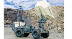 Terex dump trucks of the HD and TA series (unloading with rise)