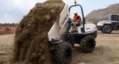 TA series Terex dump trucks (rotary, power swivel function)