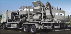 The unit for cementation of wells of KRGJ-350