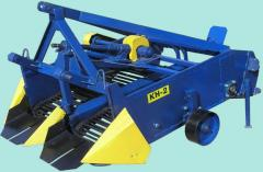 Diggers for the root-crops