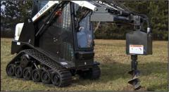 The hinged equipment to mini-loaders of the Terex company