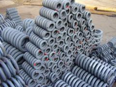 Springs for railway transport (ZhD-equipment