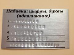 Znakowanie, naklejki, cyfry, litery