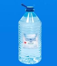 Mineral water in large bottles from the producer,