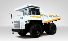 Miner dump truck