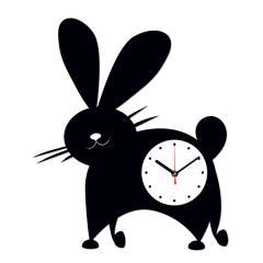 """Часы настенные """"Заяц-4"""", Часы"""