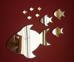 "Зеркало ""Рыбки"", Зеркало для ванной"