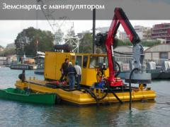 The pump hydraulic HY300 (dredges with the manipulator