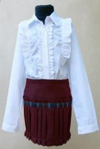 School blouses and skirts