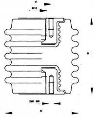 Изолятор фарфоровый опорный ИОР-10-7.5Ш2