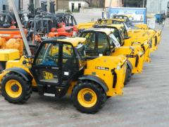 Telescopic loaders of JCB