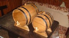 Бочка дубовая для хранения и выдержки вина,