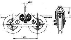 Зажим поддерживающий глухой ПГУ-5-1