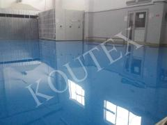 Floors for gyms. Polimerbetonny bulk coverings of