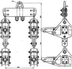 Зажим поддерживающий 4ПГН2-8-2