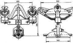 Зажим поддерживающий глухой ЗПГН2-5-4