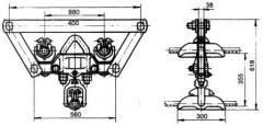 Зажим поддерживающий ЗПГН2-5-1